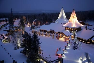 Rovaniemi i Wioska św. Mikołaja