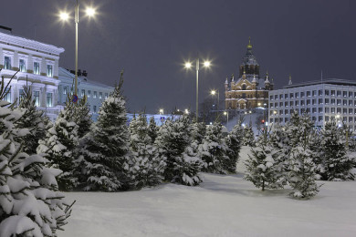 In love with Helsinki before Christmas