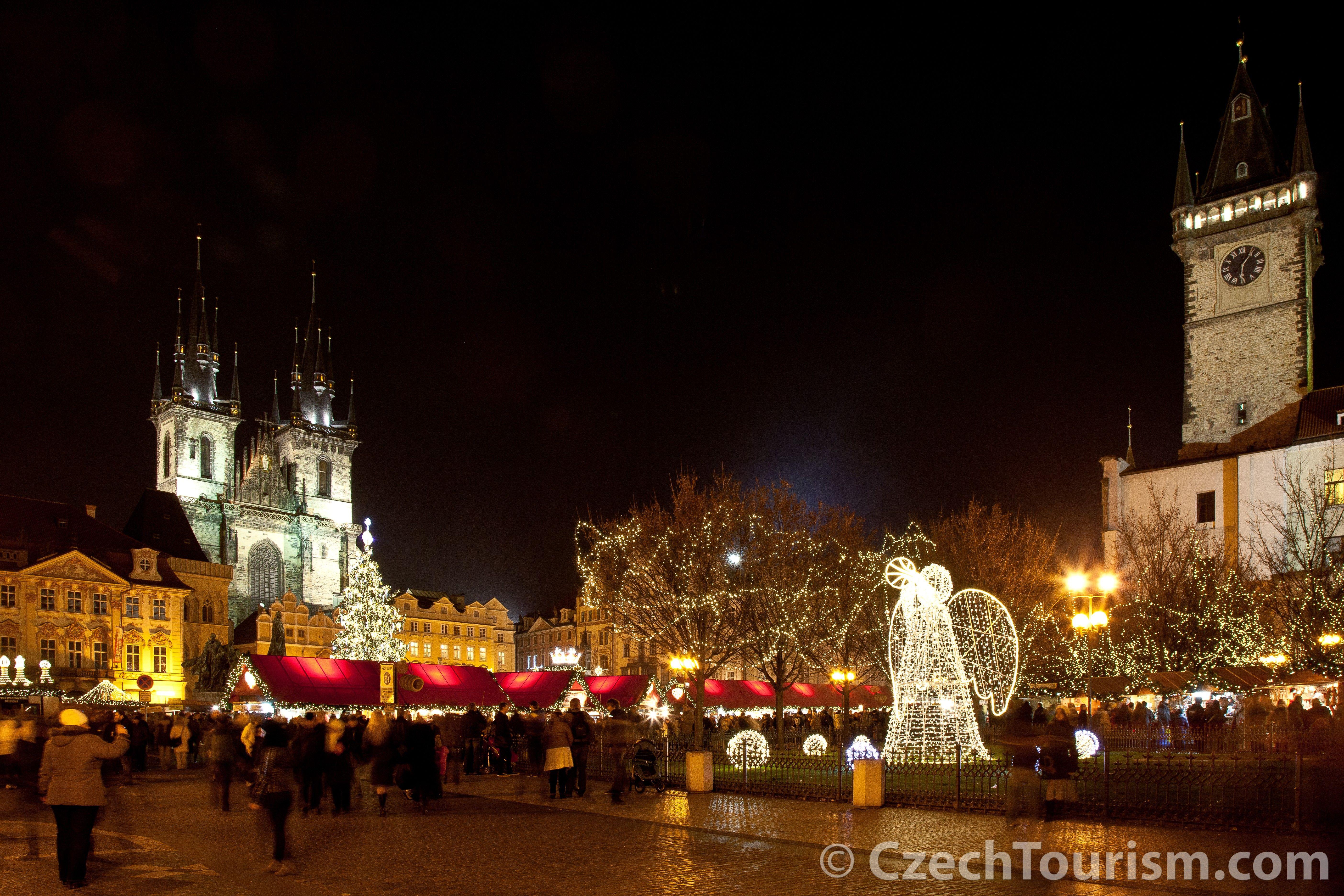 Jarmarki Bożonarodzeniowe w Pradze