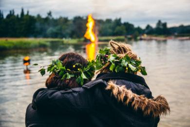 Seurasaari Midsummer Bonfires