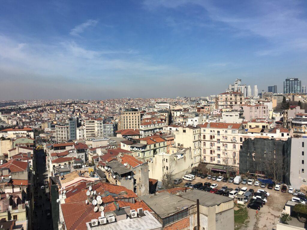 Zwiedzanie Wieży Galata w Stambule
