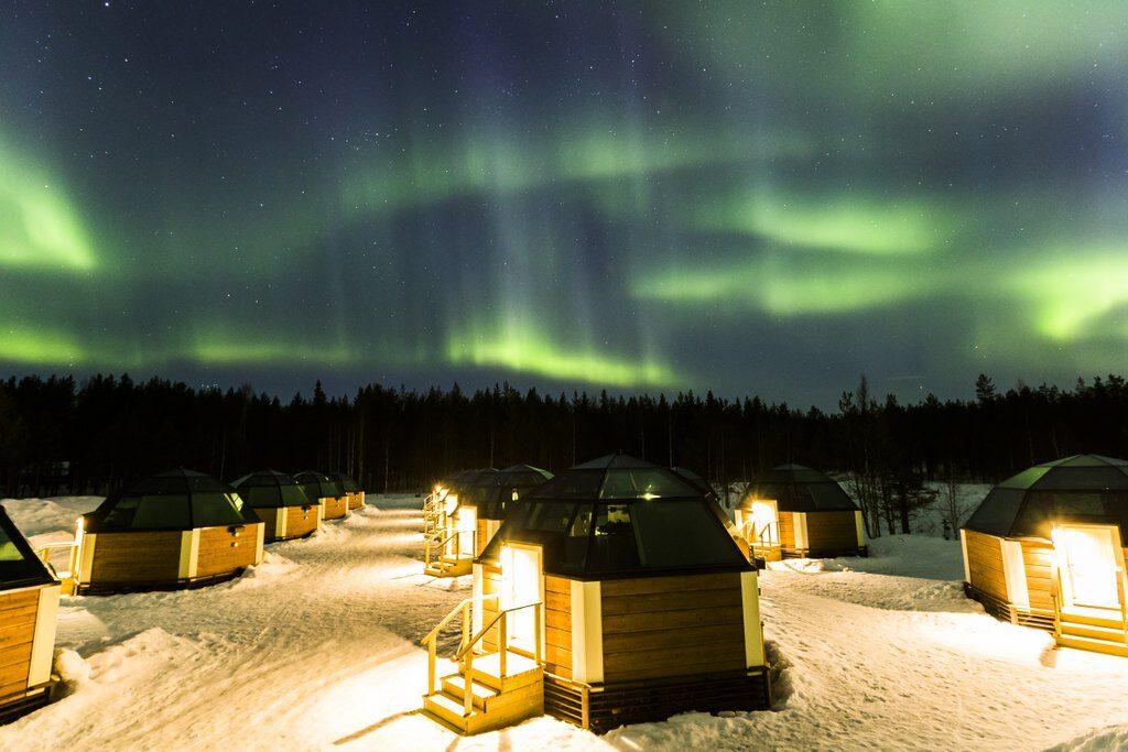 Laponia i zora polarna