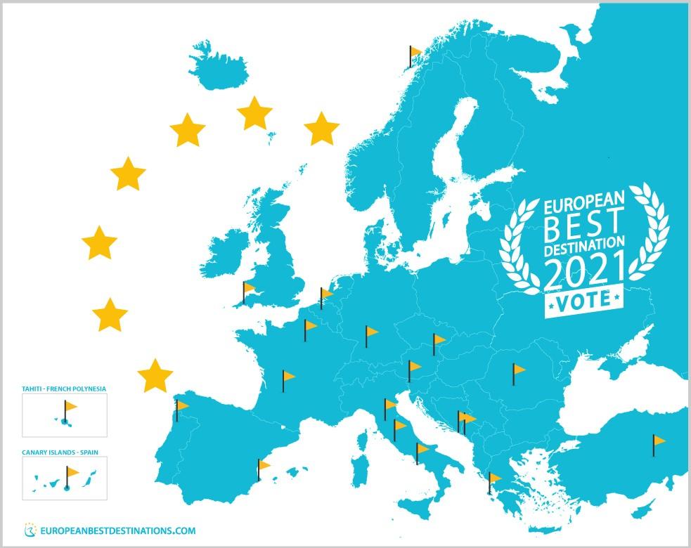 European Best Destonation 2021
